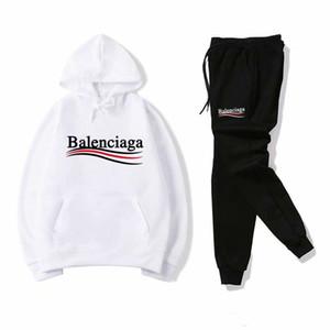 Отпечатано Phillip Plain Tracksuit метанию весна Tracksuit Set 2019 Новый стиль спортивной одежды Костюм для Man Дорожка PP костюмы устанавливает 2pcs Coat Pants