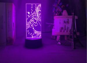 3d Night Light Led Color Changing Nightlight for Kids Bedroom Decoration Light Anime Hunter X Hunter Hisoka Lamp Gift