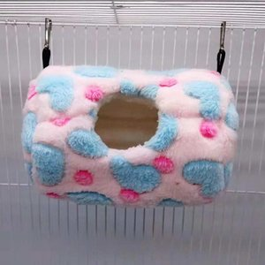 Pequenos Animais Hamster Squirrel Bed Hammock Toy Hanging Bed Nest Casa gaiola