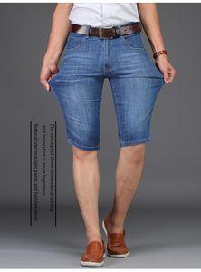 Sulee Marka Kısa Denim Kot Yüksek Kaliteli 2019 Yeni Yaz Erkekler Denim Şort Moda Ince Pamuk Rahat Kısa