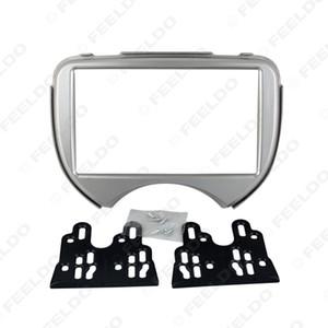 Nissan March / Micra için 2DIN Araba Radyo Stereo Alınlık Paneli Takma Çerçeve Facia Trim Montaj Kiti (2011-present) #: 2621