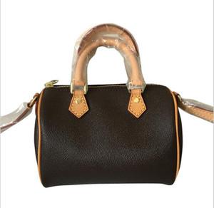 2020 Wholesale New Canvas Genuine Leather Lady Messenger Bag Phone Purse Fashion Satchel Nano Pillow Shoulder Bag Handbag