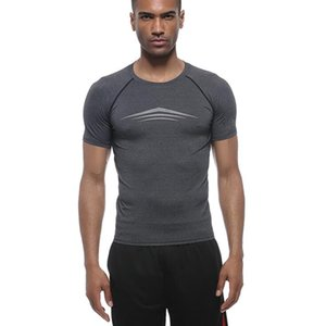 sportswear Stretch vestiti asciugatura rapida Vest Mens allenamento fitness T-shirt Designer formazione shirta abbigliamento fitness esecuzione a maniche corte
