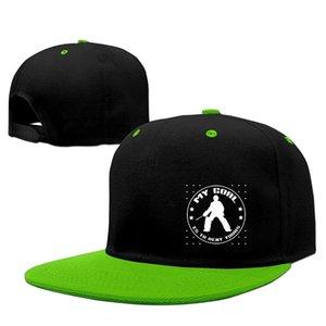 Hockey Goalie Quote Adult Snapback Adjustable Hats & Caps Hats, Scarves & Gloves Baseball Cap Hip Hop Hat
