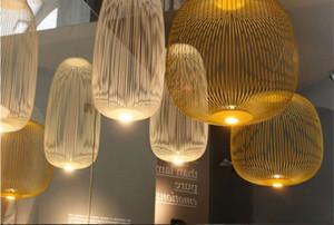 Modern Foscarini Spokes Luzes pendentes industrial Bird Cage Luminaire Dining Room Living Room Home Decor Led Lâmpada de suspensão