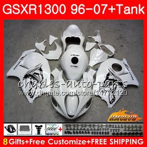 Кузов Для SUZUKI Hayabusa GSXR 1300 GSXR1300 96 02 03 04 05 06 жемчужно-белый 07 24HC.123 GSX R1300 1996 2002 2003 2004 2005 2006 2007 Обтекатель
