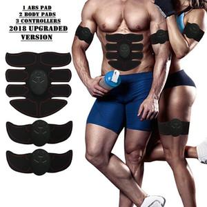 Muscle électrique Stimulateur entraînement machine Muscle abdominal Body Trainer Minceur Brûler exerciseur massage du corps du bâtiment