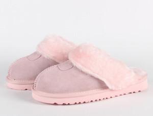 2019 Vendita calda di design classico 51250 calde pantofole di capra scarponi da neve stivali Martin Short stivali donne scarpe calde mantengono il trasporto DORP