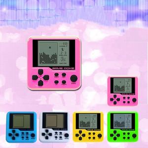Ultra-pequeno Mini Tetris Crianças Handheld Game Console Lcd Jogadores Portáteis Crianças Brinquedo Educacional Brinquedos Eletrônicos Clássico