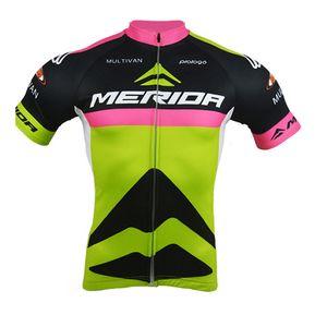 MERIDA команда летом menteam Велоспорт с короткими рукавами трикотаж лето мужская одежда для велосипеда Одежда MTB униформа PRO одежда велосипед 52818