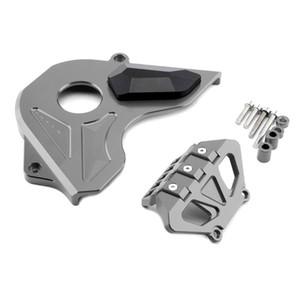 Pour CB650F 2017 2018 Front Sprocket chaîne Garde Protecteur Antichute CNC en aluminium Accessoires moto