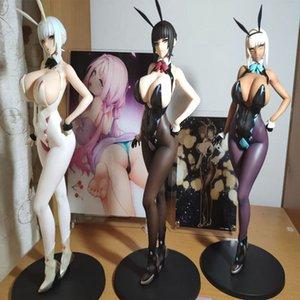 GZTZMY 25cm Q-Six Sexy Bunny Girl Erika Izayoi weichen Körper Sexy Mädchen PVC-Tätigkeits-Abbildung Anime-Abbildung Modell