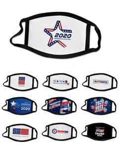 Trump Face Mask USA American President Election Mouth Trump 2020 Letter Printed Facial Protective Cover Party Designer Masks