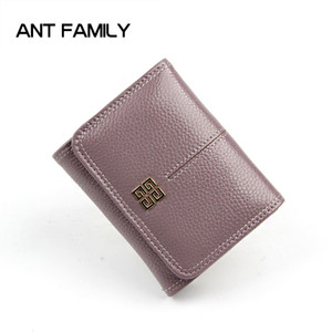 Portafoglio donna portafogli in pelle genuino porta monete portamonete portafogli in pelle mini portafoglio piccolo portafogli moda alta qualità Y19051702