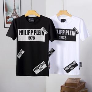 Diseñadores de lujo 2019 Verano Nueva llegada Ropa de hombre de calidad superior Camisetas D2 Imprimir Fashion Tees Tamaño 3d