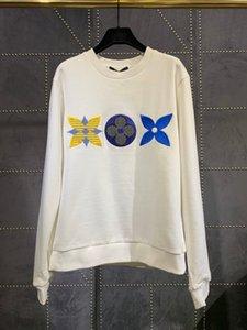20ss New luxurious brand designer embroidery Pullovers Women Men Long Sleeve Sweatshirts sun-protective Streetwear Outdoor Hoodies 6.28