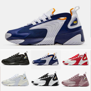 2019 newest Zoom 2K M2K Tekno daddy 2000 Sail White-Black Dark Grey for men's running sneaker shoes air sports shoes