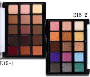 PopFeel Mini 15 Couleur fard à paupières Profession Maquillage Ombre à paupières Palette Shimmer Cosmétiques Matte