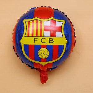 1pc 18inch Fußbälle Fußball Event Supplies Festliche Party Supplies Folienballons Fußballteam Thema Geburtstag Baby Shower Party-Deko
