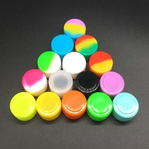 2 Ml Silicone Non-stick Container Dab Jar For Concentrate Wax Oil Silicone Container 100 Pcs lot
