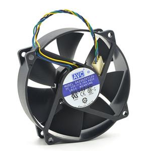 Original AVC DA09025T12U 9025 90mm / 80mm x 25mm PWM Rodada Cooler Ventilador de Refrigeração 12 V 0.70A 4 Wire 4Pin Conector