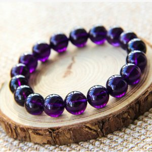 Uruguay amethyst bracelet custom collection class female natural crystal bracelet bracelets purple custom jewelry