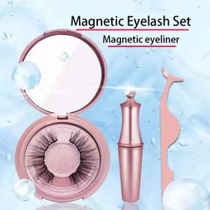 cils magnétiques Eyeliner magnétiques de haute qualité 3d cils 5j vison OEM emballage Cils personnalisé disponible dans une variété de styles costume