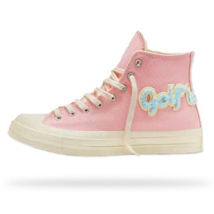 Классический Гольф Le Fleur x Chuck 70 синель новые Мужчины Женщины Звезда Skateborad обувь Мода GLF 1970 высокий розовый холст кроссовки размер 36-44