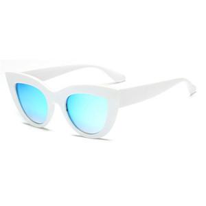 Women's Brand Designer Sunglasses Designer Fashion Short Cat Eye Sunglasses Women's Style High Quality Pink Case Send Box Free Shipping