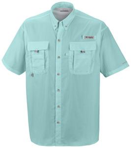 ¡Envío gratis! - rápida camisa seca camisa de la pesca al aire libre de senderismo Omni-Shade hombres de la UPF 30