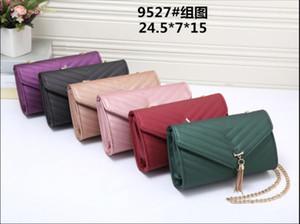 On the new 2020 bag female fashion oblique cross chain shoulder bag car stitching single shoulder oblique cross female bag