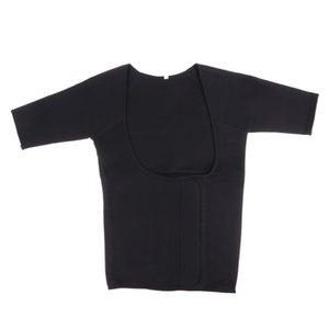 Donne Neoprene sudore Sauna Suit Canotta camicia vita Trainer Vest con Magic Sticker per allenamento di ginnastica corpo Shaper