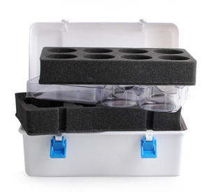 Child Beyblade Box Portable Waterproof 8 in 1 Carrying Case Box Case Organizer Toys for Kids Spinning Box Beyblade Burst Bable