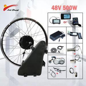 48v 500w elektrische Fahrrad-Conversion Kit Samsung Lithium-Batterie Brushless Hub vorne Motor Rad bicicleta electrica e Bike Kit