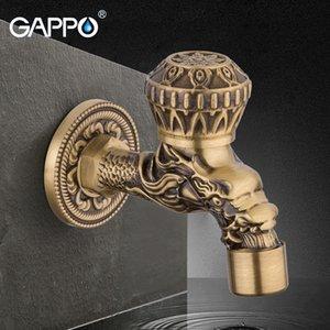 atacado bibcocks bronze antigo Wall Mounted torneira máquina de lavar Mop Sink Torneiras Jardim Bibcock toque único Torneiras exteriores frias