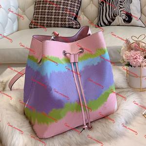 Saco de cordão de desenhista Bolsa de luxo de tintura para mulheres bolsas de ombro pastel bolsas para atacado