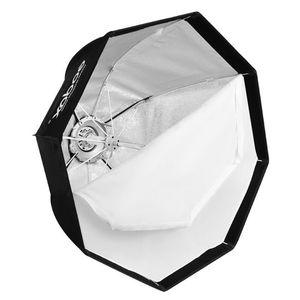 Freeshipping UE-120CM Softbox Professional Professional Umbrella Softbox مع Bowens Mount for Speedlite Flash