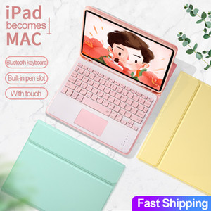 Для IPad Pro 11 2020 2018 2th Ipad 10,2 Pro 10,5 Воздух тачпад Клавиатура Bluetooth кожаный чехол Candy