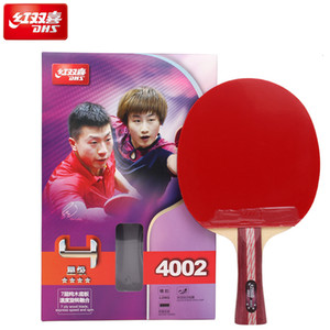 Original Dhs Table Tennis Racket 4002 4006 Ping Pong Bat Table Tennis Racquets Indoo Sports Raquete T190927