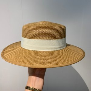 2020 high quality fashion ladies double-sided hat travel outdoor sun hat ladies canvas double-sided hat with box 6511243