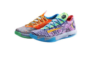 KD 6 What the KD shoes for sale With Box 2020 Kevin Durant 6 basketball shoes store size40-46