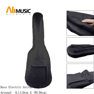 Portable Double shoulds strap Bass Guitar Bag Soft Case Protection For Electric Bass Guitar
