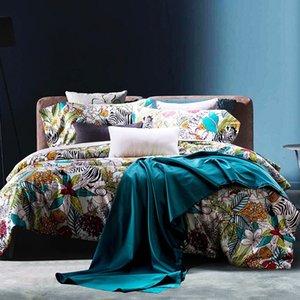 Euro Colcha King Bedding Set Funda Nórdica reina alta calidad edredón de la cama de Roma cubierta del edredón