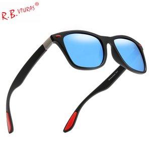Rbvturas 2019 Polarized Sunglasses Men Women New Square Sun Glasses Rays Brand Designer Retro Vintage Eyewear Male Uv400 Oculos BtSha