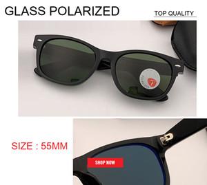 2019 YENI vintage Güneş Kadınlar Retro g15 Polarize cam lens Güneş Gözlüğü Ünlü Marka Tasarımcısı rd2132 kare Güneş gözlükleri 55mm gafas