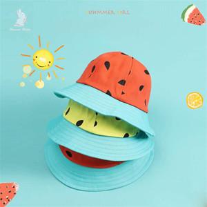 Cappello per bambini Anguria Pescatore Cappelli Uomo e donna Bambino Parasole Cappello da sole Berretto da viaggio Fruit Parenthood Hat