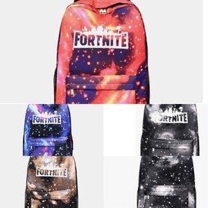 Erkekler ve kadınlar gençlik kampüsü Fortnite oyun kale omuz çantası sırt çantası sırt çantası gece Yıldızlı Gökyüzü çantası