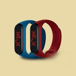 2020 design de produto novo wearable termômetro pulseira de medição de temperatura pulseira relógio de pulso inteligente