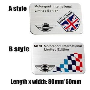 بي ام دبليو ميني كوبر كونتري مان الذيل جذع باب السيارة انجلترا سباق رياضة موتورسبورت طبعة محدودة شعار ملصق مائي