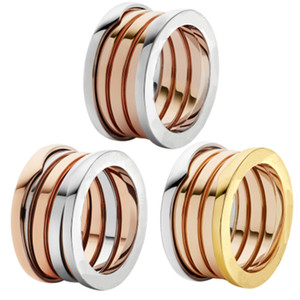 stil 3mix renk paslanmaz çelik şanslı bayan mizaç marka moda sarmal yay halkası takı doğum günü hediyesi